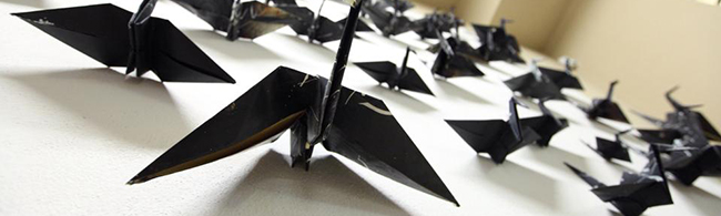 slide origami gru
